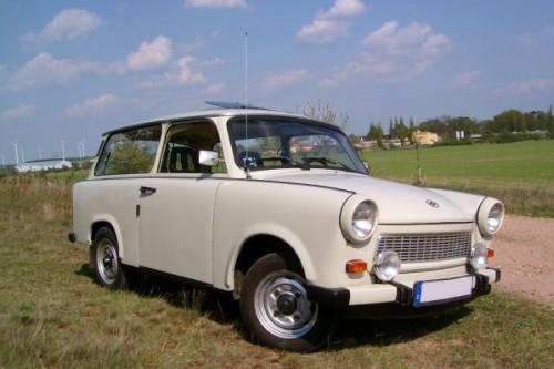 Kult-Pappe: Original-Trabant einmal selber fahren